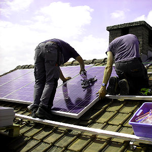 Delaware County Solar Contractors Installing Residential Solar PV System
